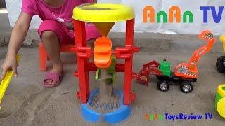 Máy sàng cát đồ chơi trẻ em - Máy lọc cát đồ chơi trẻ em ❤ Anan ToysReview TV ❤