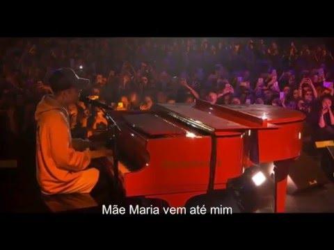 Justin Bieber - Let it Be (Live) [LEGENDADO/TRADUÇÃO]