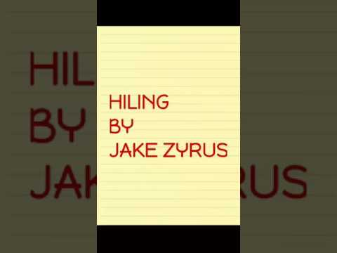 Hiling lyrics by jake zyrus