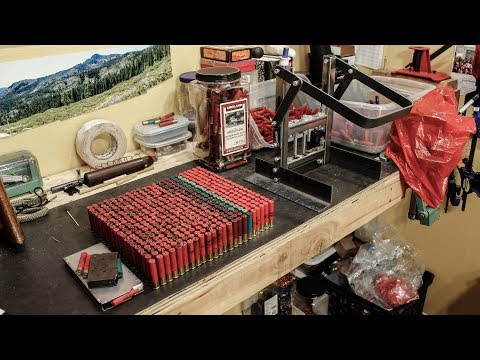 Reloading 410 With A Homemade Press