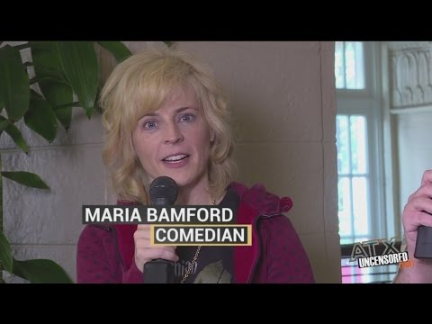 Maria Bamford Talks 'Lady Dynamite' and abruptly leaves