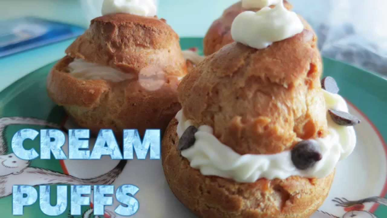 how to make cream puffs video