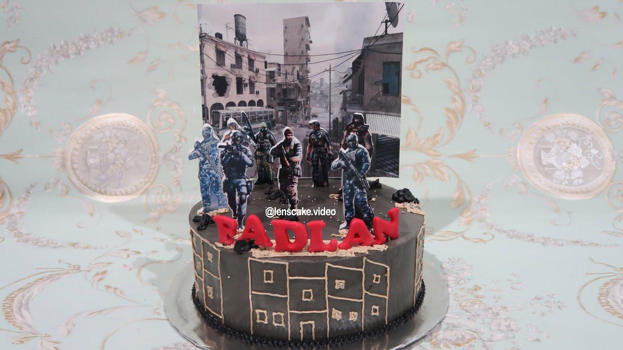 How To Decorate Birthday Cake For Boy Cross Fire Cara Menghias Kue Ulang Tahun Anak Laki Laki