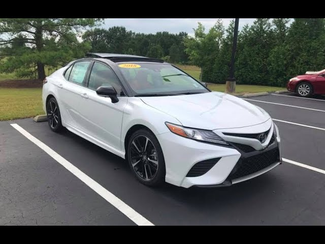 2018 Toyota Camry Xse 2 5L 4 Cylinder Full Tour Start Up At Massey Toyota