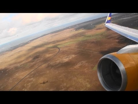 Incredible Tailwind HD 757 Takeoff From Reykjavik Iceland On Icelandair!!!