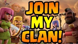 Clash of Clans: HOW TO JOIN MY CLAN
