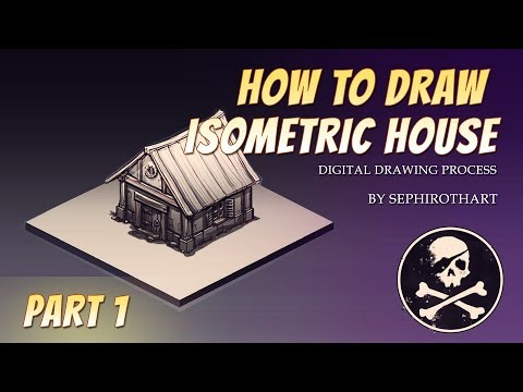 How to Draw Games #7 | Isometric House part1
