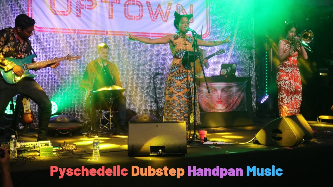 Psychedelic Dubstep Handpan Music, Uptown stage, Singapore Grand Prix Formula 1 Night Race
