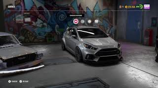 Réglage Suspensions Need for speed Payback