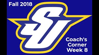 Fall 2018 - Week Eight Coach's Corner