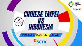 Pertandingan Sepak Bola Asian Games 2018 - Chinese Taipei VS Indonesia