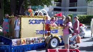 Days of 47 Youth Day Parade Float for the Sandy Utah Hidden Valley Stake.AVI
