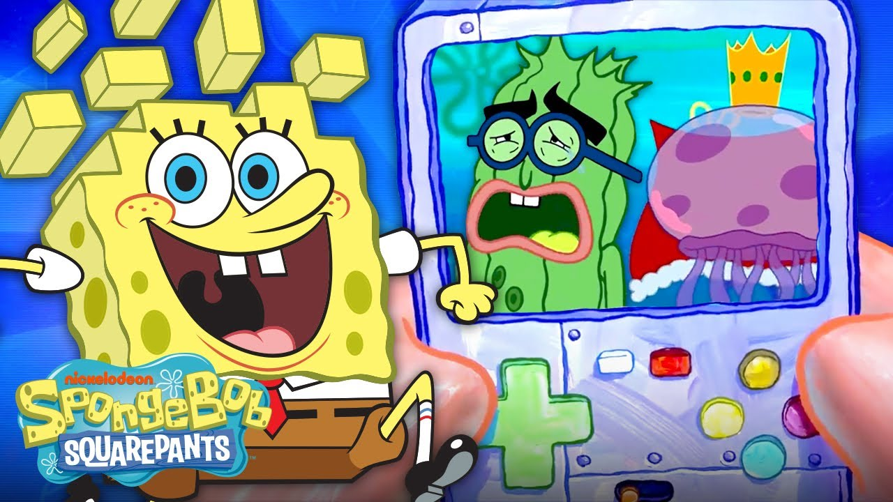 If SpongeBob Was Like a Battle RPG Video Game ? SpongeBob SquareOff Part 3