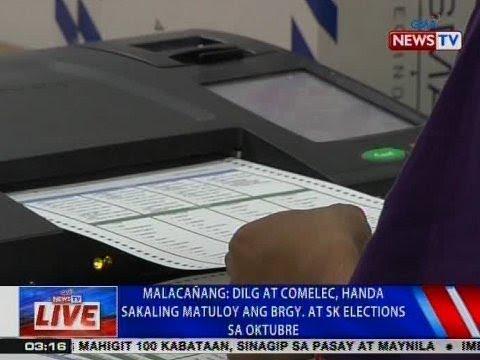 NTVL: Malacañang: DILG at Comelec, handa sakaling matuloy ang Brgy. at SK elections sa Oktubre