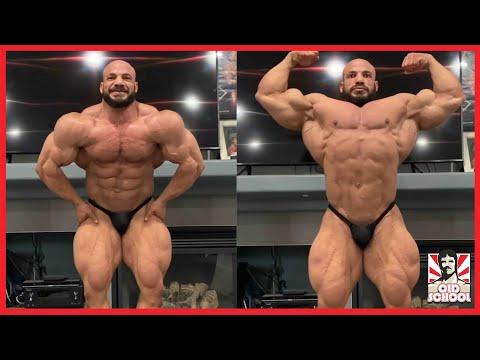 Big Ramy Posing Video + William Bonac Back Update + Hunter Labrada Posing