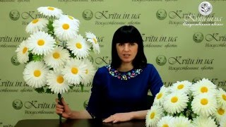 видео Искусственные цветы и листья купить