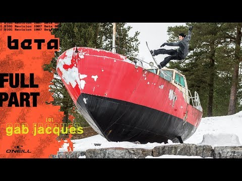 The SNOWBOARDER Movie: Beta—Gab Jacques Full Part