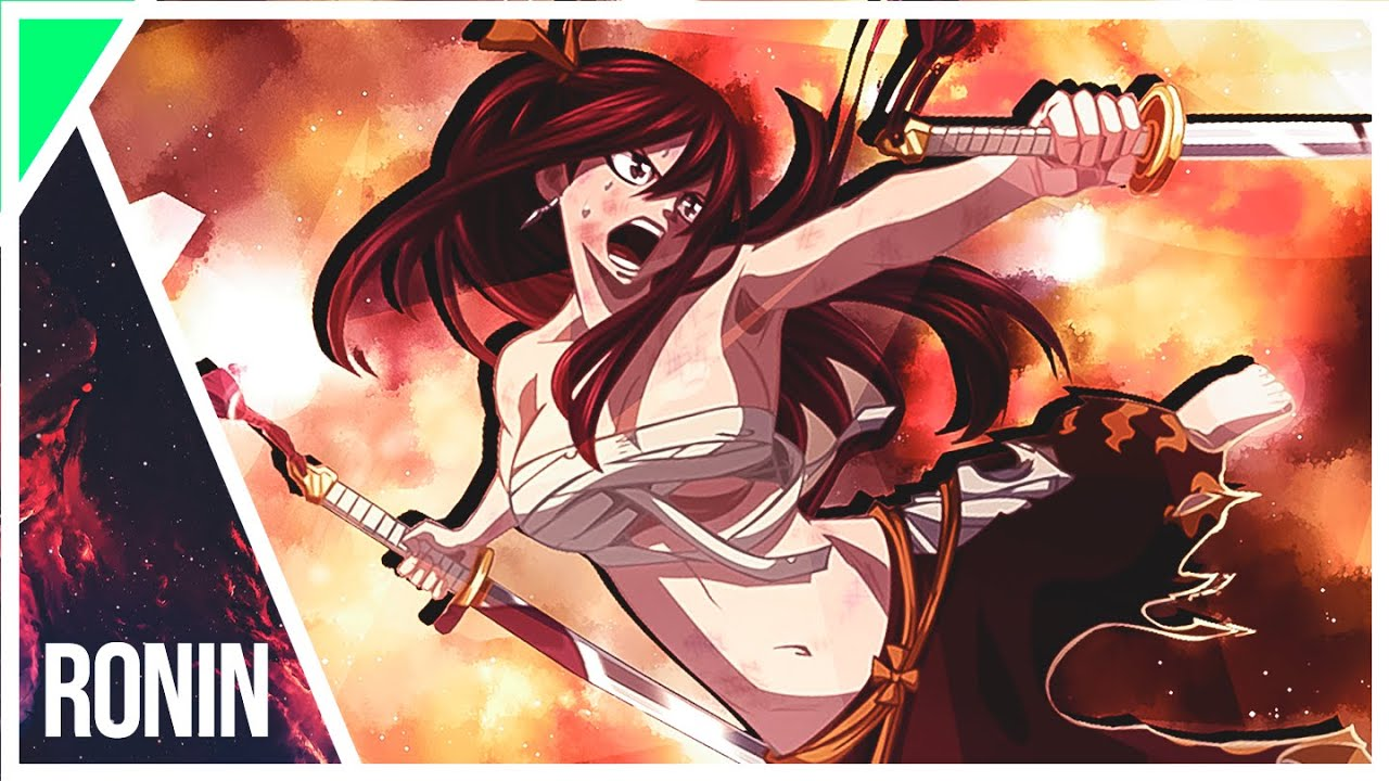Wallpaper Erza Scarlet Fairy Tail