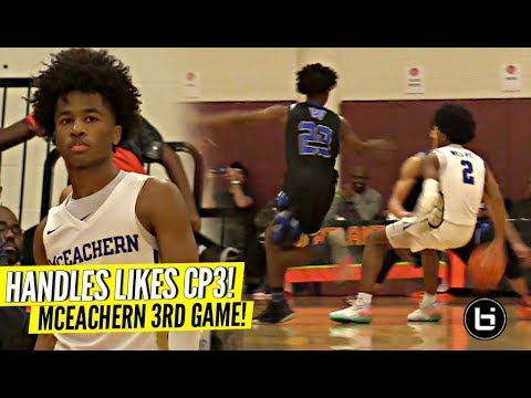 Sharife Cooper Has CP3 Like Handles & Game!! Come Up BIG In The Clutch Again!!