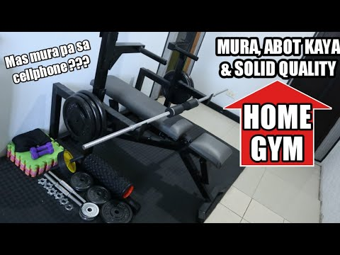 AFFORDABLE & SOLID QUALITY HOME GYM (MAS MURA PA Sa CELLPHONE?!) MikeG Philippines