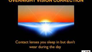 Overnight Vision Correction to Cure Short-sight