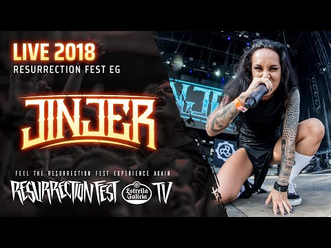 Jinjer - Captain Clock (Official Live at Resurrection Fest EG 2018)