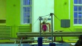 Спортивная гимнастика. 2 юношеский разряд у девочек. Бревно.