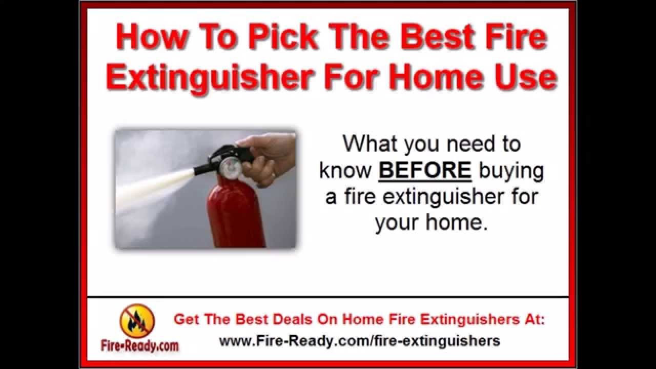 discover the best fire extinguisher for home use buy a fire extinguisher online youtube. Black Bedroom Furniture Sets. Home Design Ideas