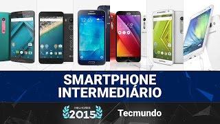 Melhores do ano 2015: Smartphone intermediário (até R$ 1,5 mil) - TecMundo