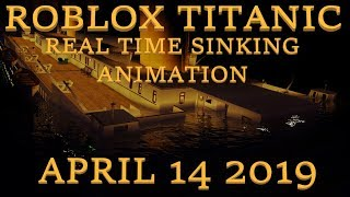 Roblox Titanic Real Time Animation | Trailer 2