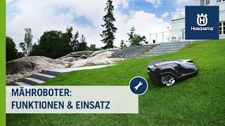 Husqvarna Automower® - Funktionen und Einsatz