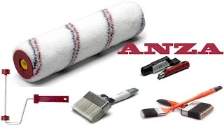 Строительный ручной малярный инструмент ANZA премиум класса Наши ин...