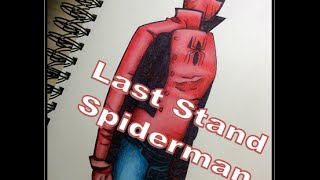 Drawing Last Stand Spiderman