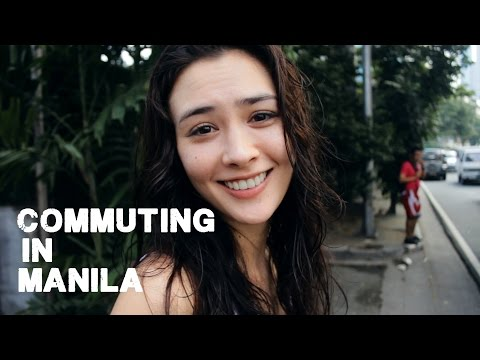 Commuting in Manila with a Top Filipina Model (ft Wil Dasovich)