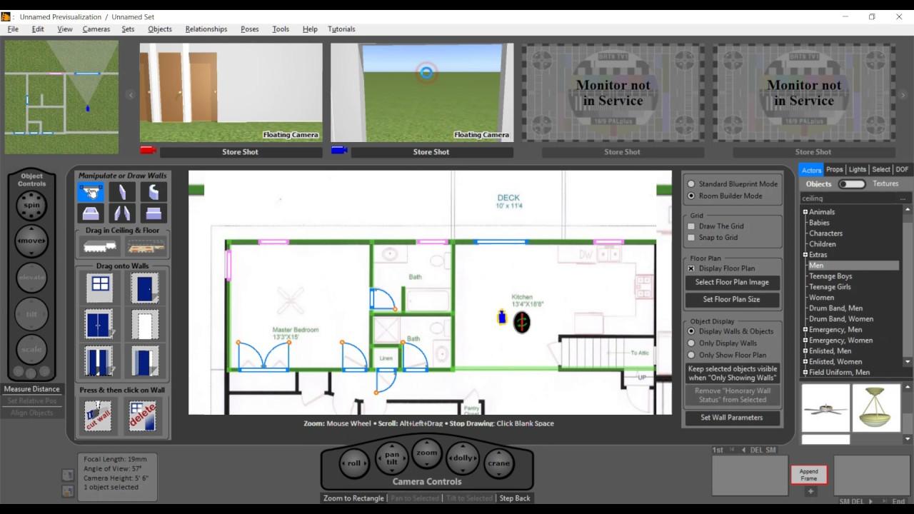 FrameForge 4 | Room Builder | Storyboard Software - YouTube