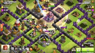 Clash Of Clans - Farm de Elixir Negro Com Gigantes/Magos