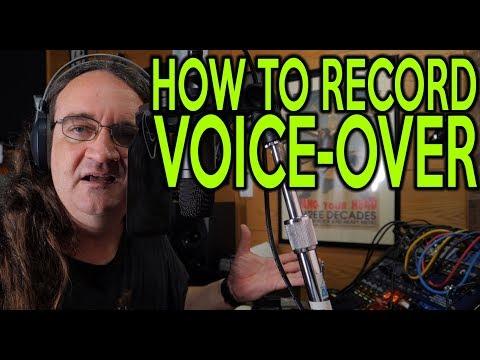 How to record Voice Over |SpectreSoundStudios | TUTORIAL