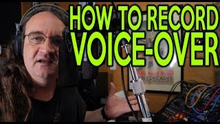 How to record Voice Over |SpectreSoundStudios | TUTORIAL