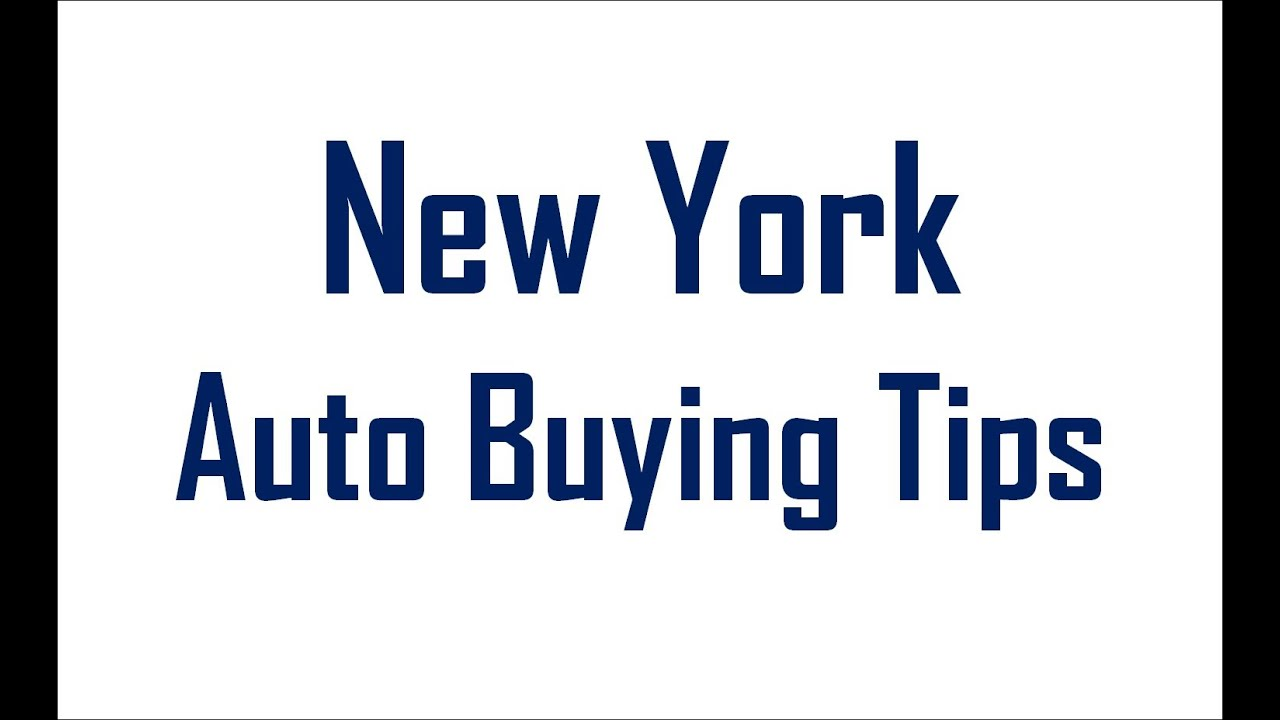 New York Ultimate Auto Loan Tips For Bad Credit Buyers To