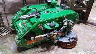 Salamanders vs Adeptus Mechanicus, 8th edition Warhammer 40k batrep