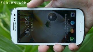 Подробный видеообзор Samsung Galaxy S3 (i9300) от сайта Ferumm.com(Материал подготовлен сайтом http://Ferumm.com Подписка: Твиттер https://twitter.com/FerummCom Вконтакте http://vk.com/ferumm_com Фейсбук..., 2012-09-02T17:59:19.000Z)