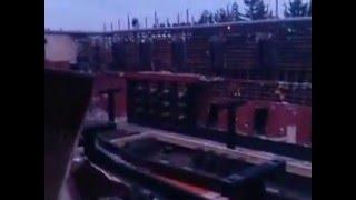 Обрушение жилого здания на Украине The collapse of a residential building in Ukraine