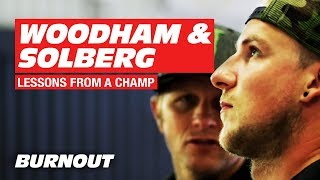 Lessons from a Champion: Luke Woodham Meets Petter Solberg | BURNOUT