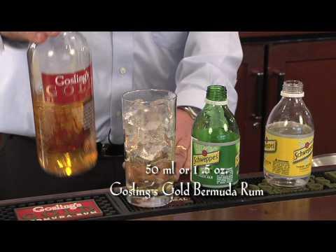 Goslings Rum: A Bright 'n Sunny
