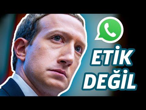 Whatsapp Gizlilik Sözleşmesini Etik Bulmuyorum