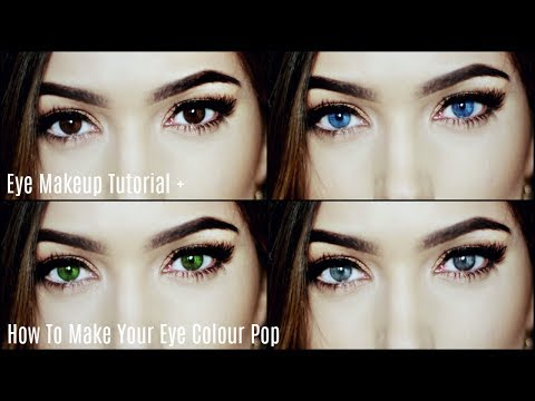 How To Make Your Eye Colour Pop