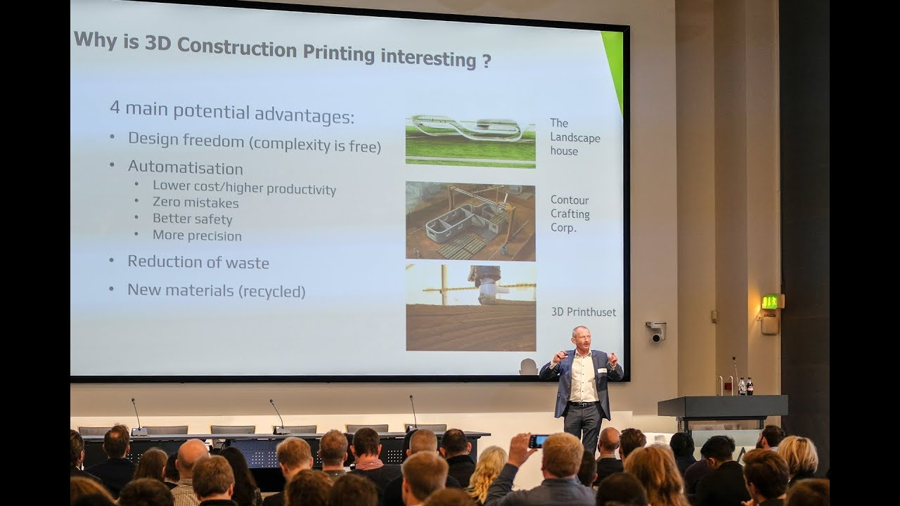 3D Construction Printing around the wold | Henrik Lund-Nielsen