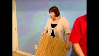 Foamtiles.com Soft Wood Tiles On Good, Better, Best On The Diy Network.