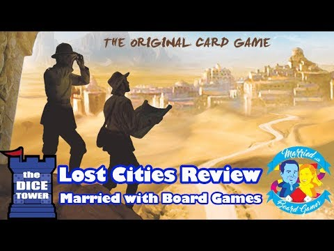 Lost Cities Review With Married With Board Games