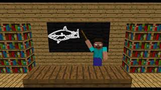 Monster School: Shark Attack - Minecraft Animation Jaws Movie